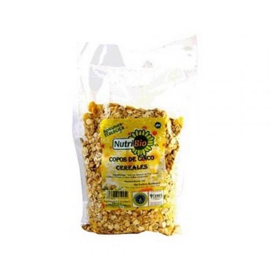 Copos 5 Cereales Bio 500gr Nutribio
