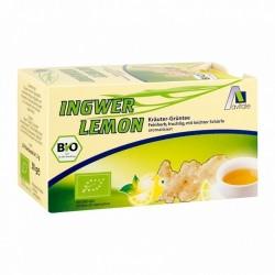 Jengibre Infusion Limon Te Verde Avitale | 20 Unid