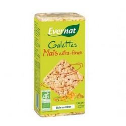 Tortitas Maiz Extrafinas Bio 130gr Evernat
