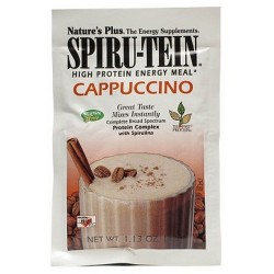Spirutein Capuccino Sobre 32 gr Natures Plus