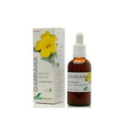 Extracto Damiana Xxi 50 ml Soria Natural
