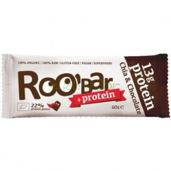 Barritas Roobar Proteica Chia Y Chocolate 60 Gr Roobar